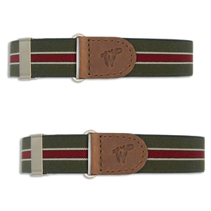 Sleeve Garters Indy Speed Green No. S522