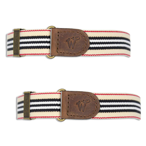 wiseguy striped sleeve garters