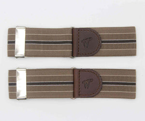 Sleeve Garters The Doctor Coffeebrown No. A123