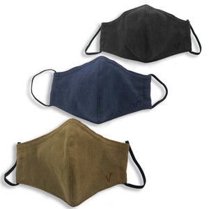 FaceWear 5-pack Army Green, Navy, Black No. M9