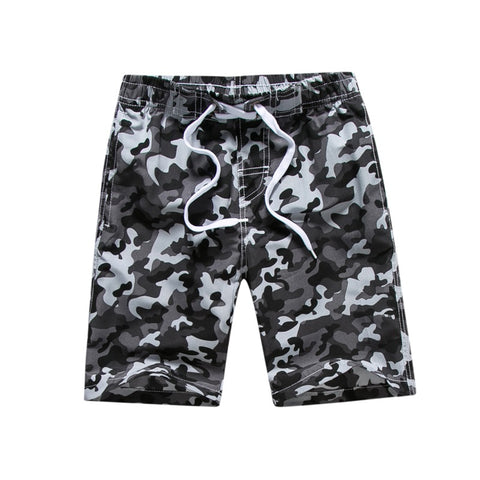 KIDS CAMOUFLAGE BOARD SHORTS