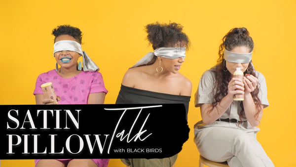 SATIN PILLOW TALK: Black Birds