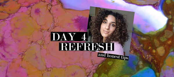 DAY 4 REFRESH using Inahsi Naturals & TGIN