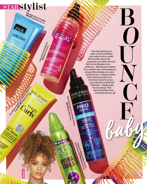 new weekly curly hair saint curl