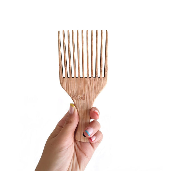 Saint Curl Bamboo Afro Comb