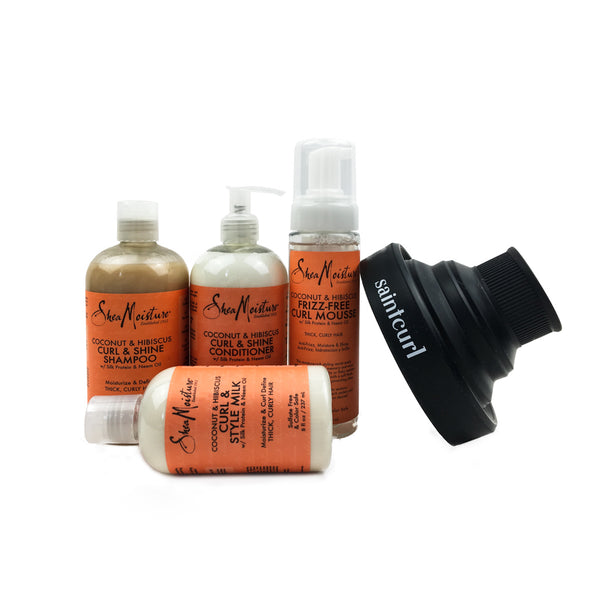Shea Moisture Wash and Style Set