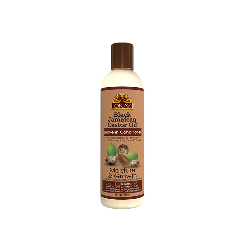 OKAY Pure Naturals Black Jamaican Castor Oil Leave In Conditioner