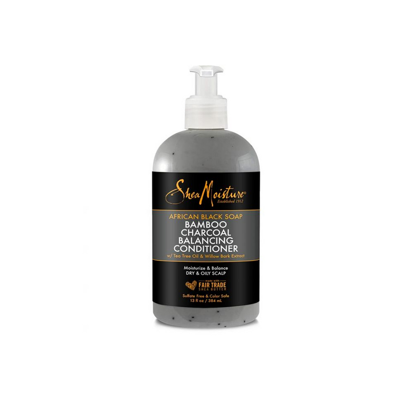 SheaMoisture African Black Soap Bamboo Charcoal Deep Balancing Conditioner
