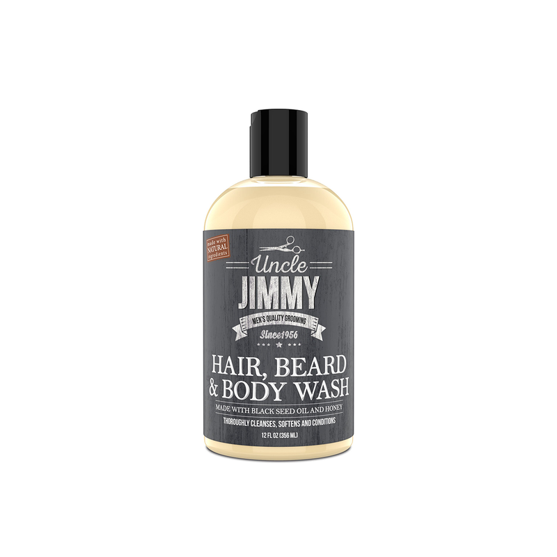 Uncle Jimmy Hair, Beard & Body Wash