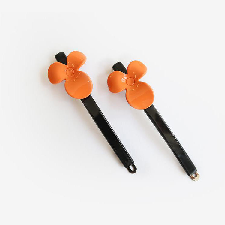 Valet Studio Natasha Hair clip orange