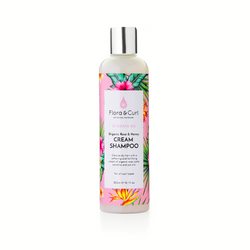 flora & curl hydrate me organic rose & honey cream shampoo Saint Curl