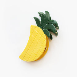 Pineapple Clip by VALET Studio moon shaped pineapple hair clip