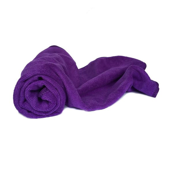Microfiber Towel Dark Purple
