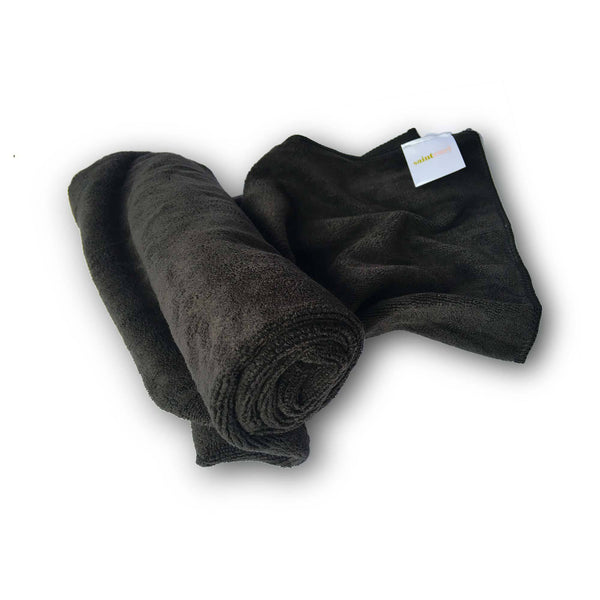 Saint Curl Microfiber Towel - Black