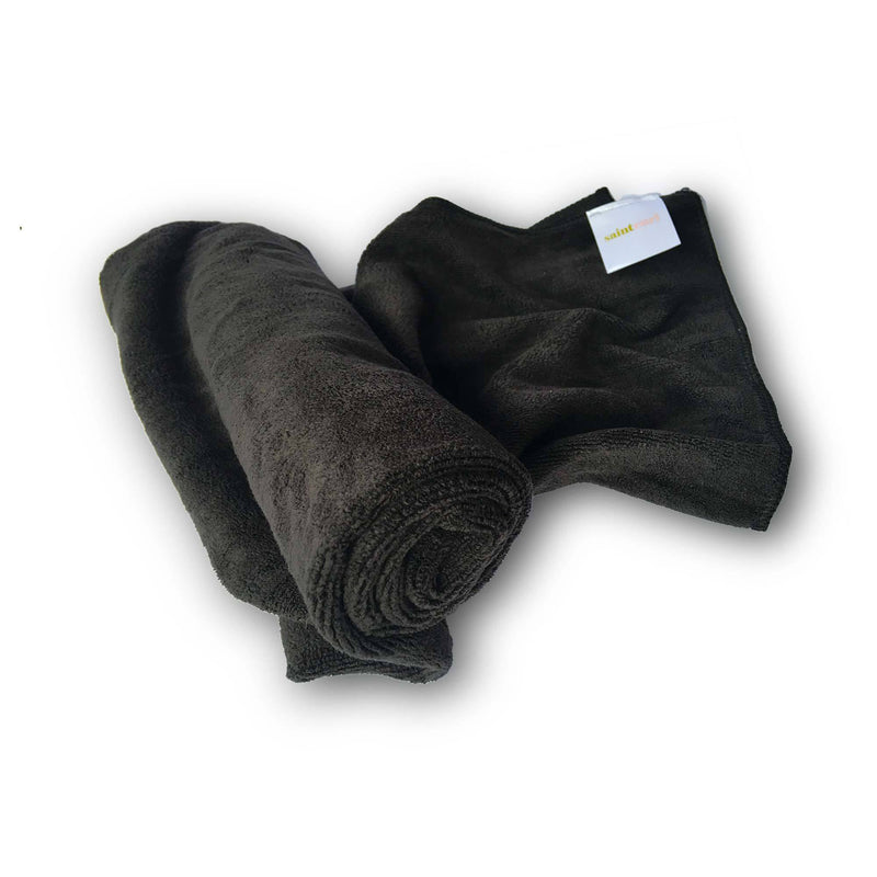 Microfiber Towel Black