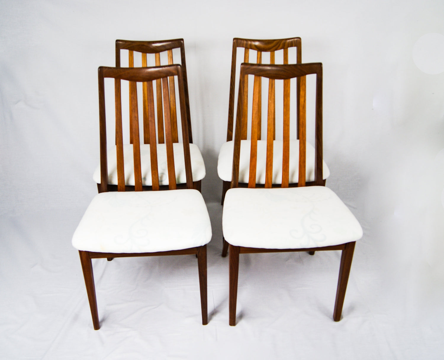 Mid-Century Design G Plan Set of 4 Fresco Dining Chairs