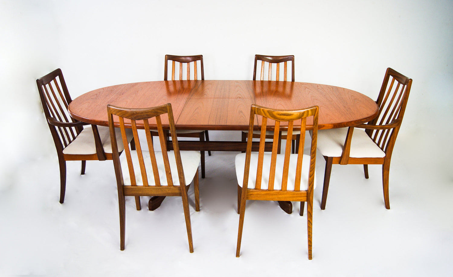 Retro 1960s G Plan Drop Leaf Extending Dining Table