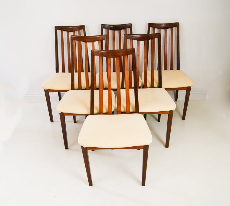 G Plan Dining Chairs Set of 6