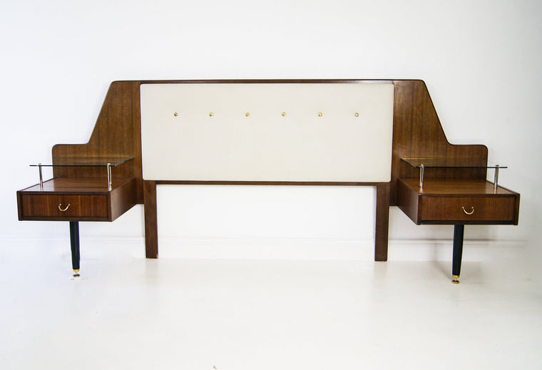1960s Teak Bed Headboard by E GOMME for G Plan