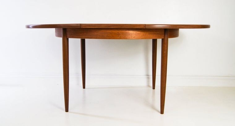 G Plan Teak Wood Extending Dining Table