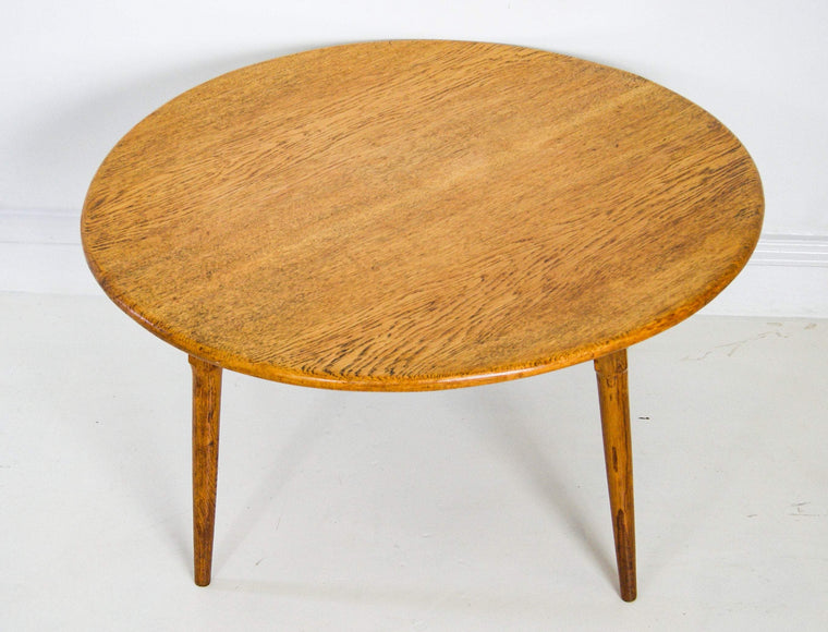 Mid Century Coconut Wood Coffee Table.