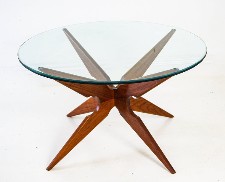 Vladimir Kagan for Sika Mobler Danish Teak Spider Coffee Table