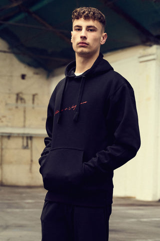 Black Signature Hoodie | Journal | Villains and Vengeance