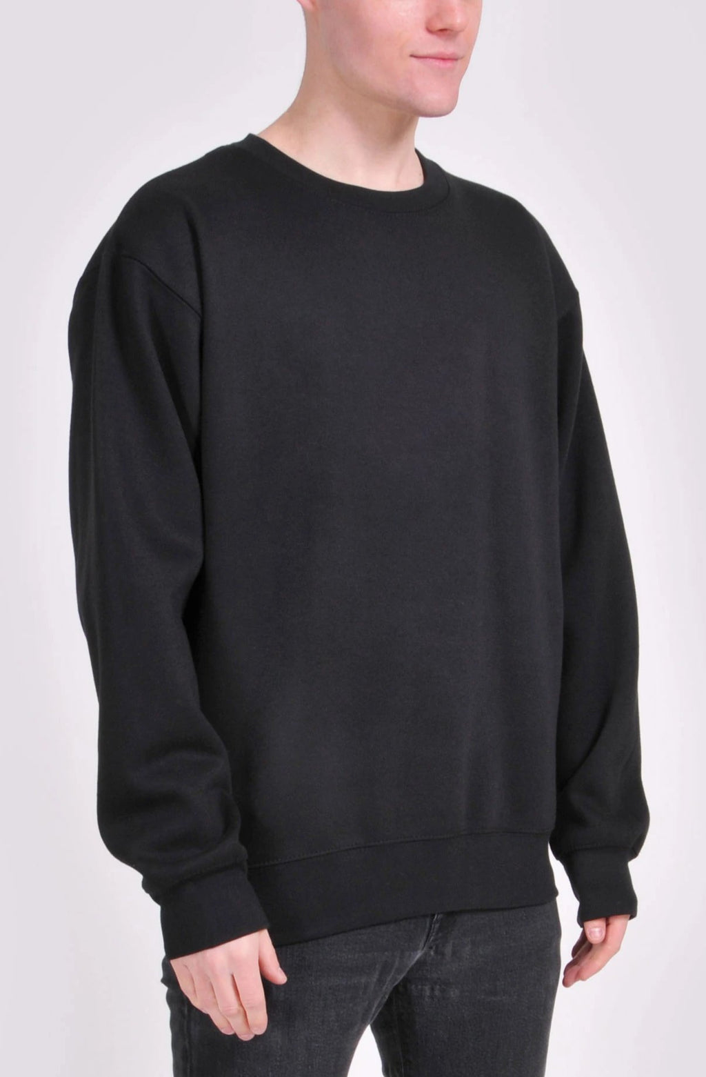 Black Essential Sweatshirt