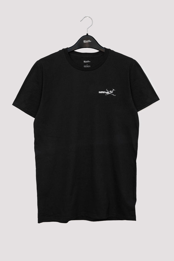 Black Jet T-Shirt - 1 | Graphic T-Shirts | VILLAINS & VENGEANCE