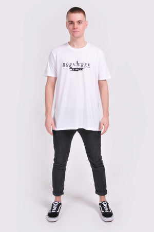 White Born Free T-Shirt