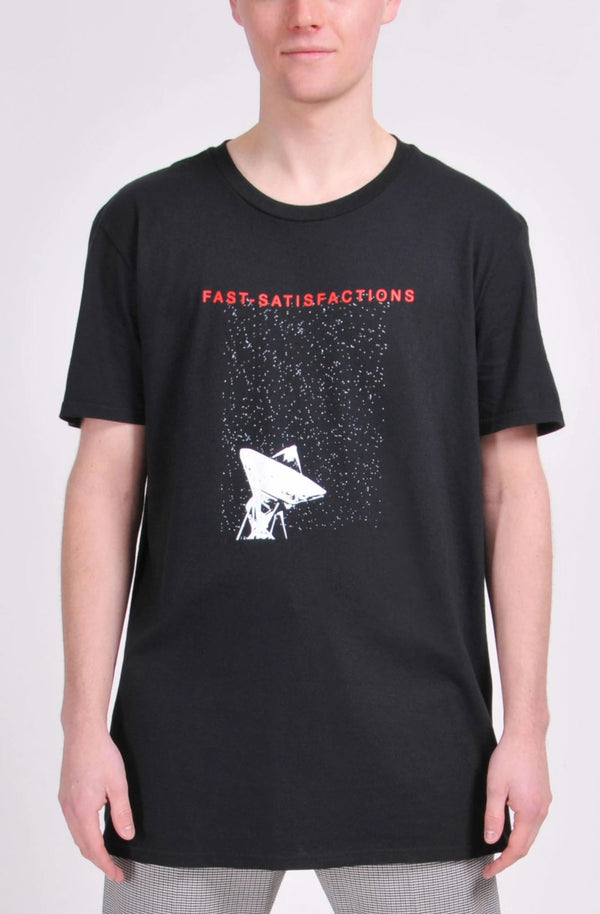 Black Fast-Satisfactions T-Shirt