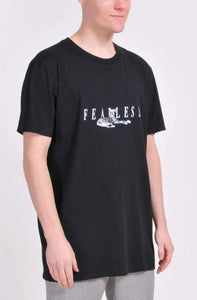 Black Fearless T-Shirt