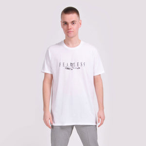 White Fearless T-Shirt