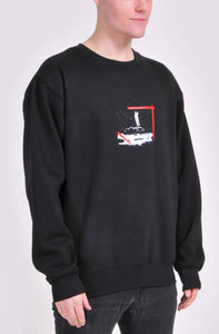 Black Joy-Ride Sweatshirt
