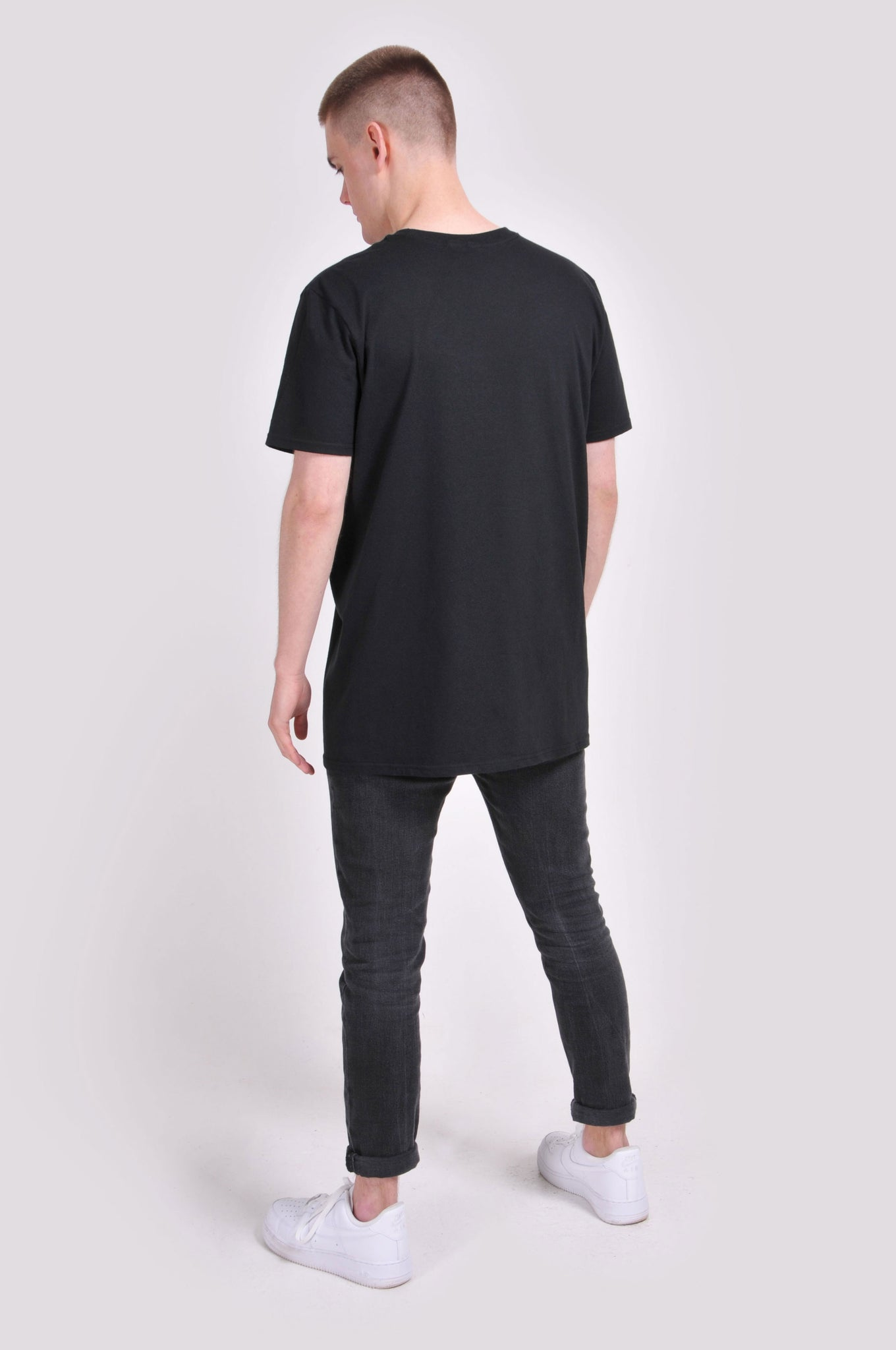 Black Midnight Logo T-Shirt
