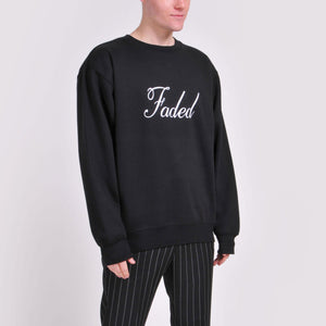 Black Faded Sweatshirt