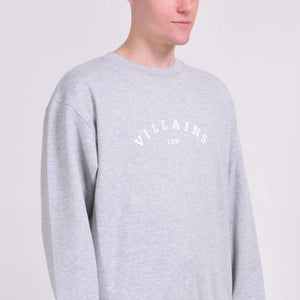 Grey Villains LDN (White) Sweatshirt