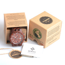 Luxury Chunk Classic Wooden Watch