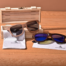 Premium Polarized Dark Bamboo Wood Sunglasses
