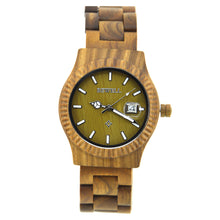 Slim Chunk Bamboo Wooden Watch