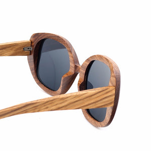 Premium Polarized Women's Wooden Sunglasses