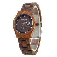 Couples Slim Chunk Bamboo Wooden Watch
