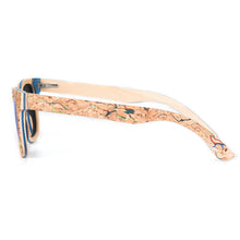 Premium Polarized Cork Effect Wood Sunglasses