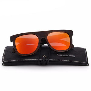 Merry's Design Dark Edge Wooden Sunglasses