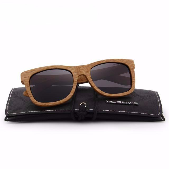 Merry's Design Light Edge Wooden Sunglasses