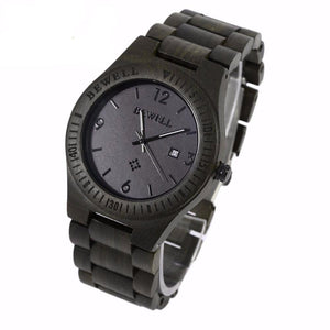 Dark Chunk Wooden Watch