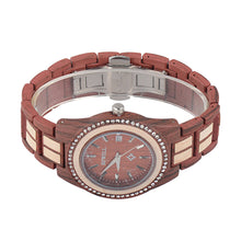 Wood Alloy Ring Women's Wooden Watch