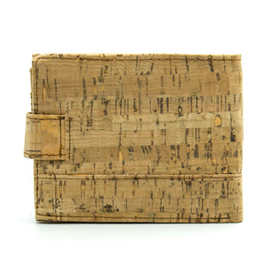 Natural Cork Wood Wallet