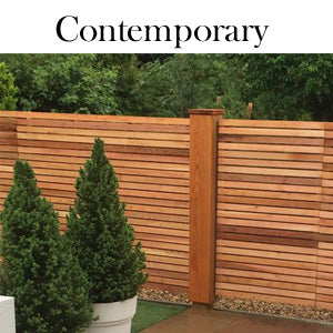 Contemporary Slatted Panels