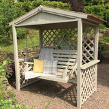 Bespoke garden painted swing